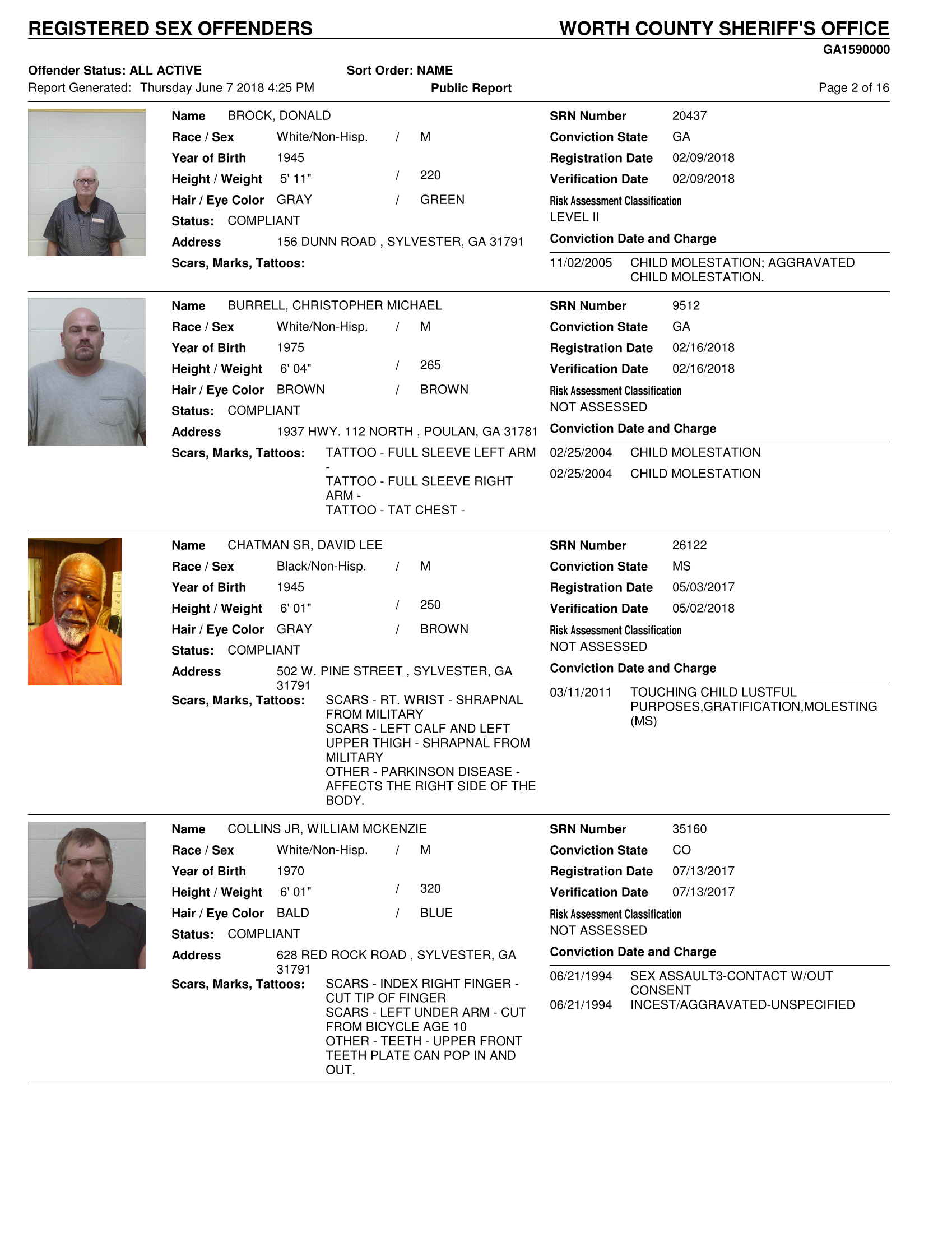 St joseph county sex crimes list