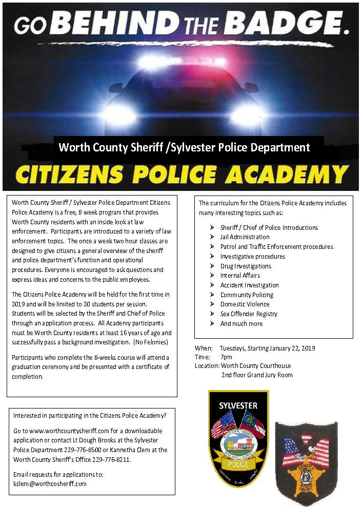 Citizens-Police-Academy Georgia Inmate Visitation Application Forms on inmate visiting forms, inmate classification, prison inmate forms,